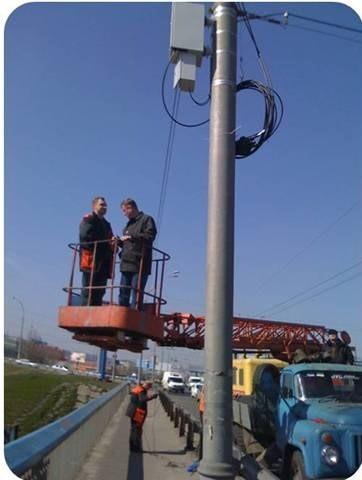 Система  электропитания   оборудования от контактной сети городского транспорта